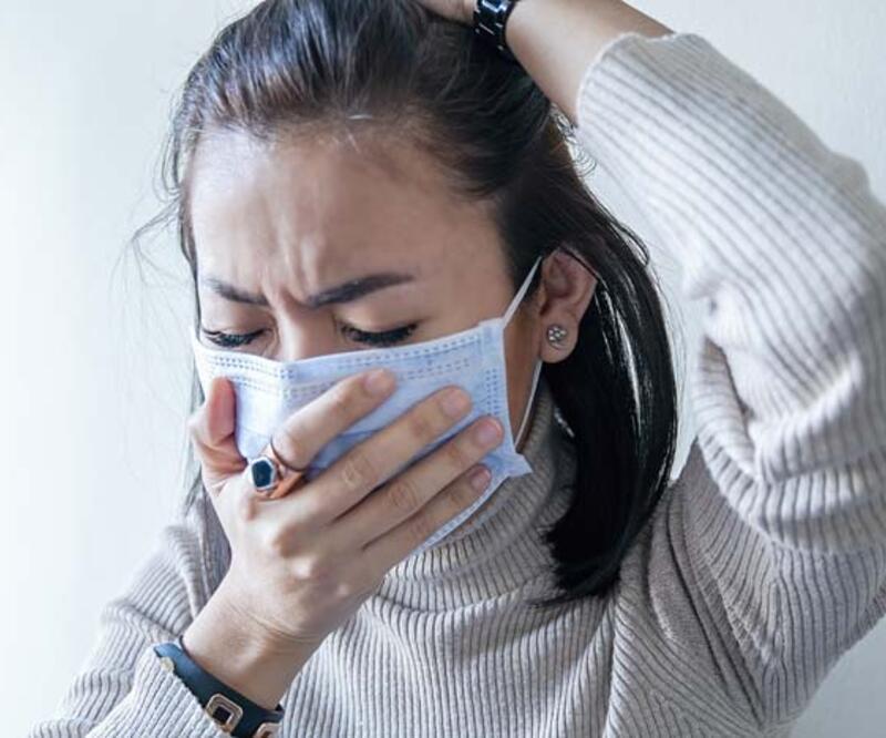 'Virüsün ana giriş kapısı burun'
