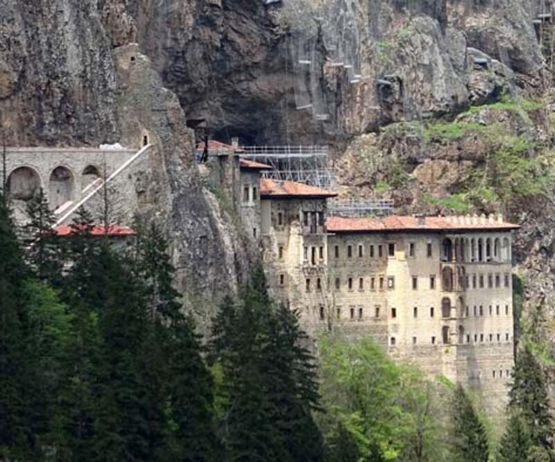 Sümela Manastırı'nı 2 ayda 100 bin kişi ziyaret etti