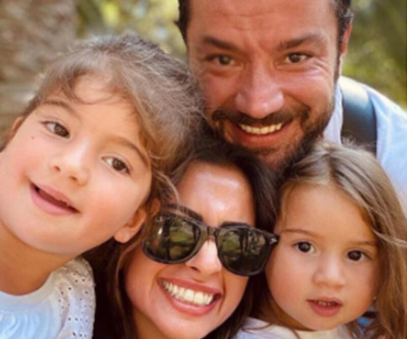 Buse Terim-Volkan Bahçekapılı çiftinin kızları Nil 4 yaşında