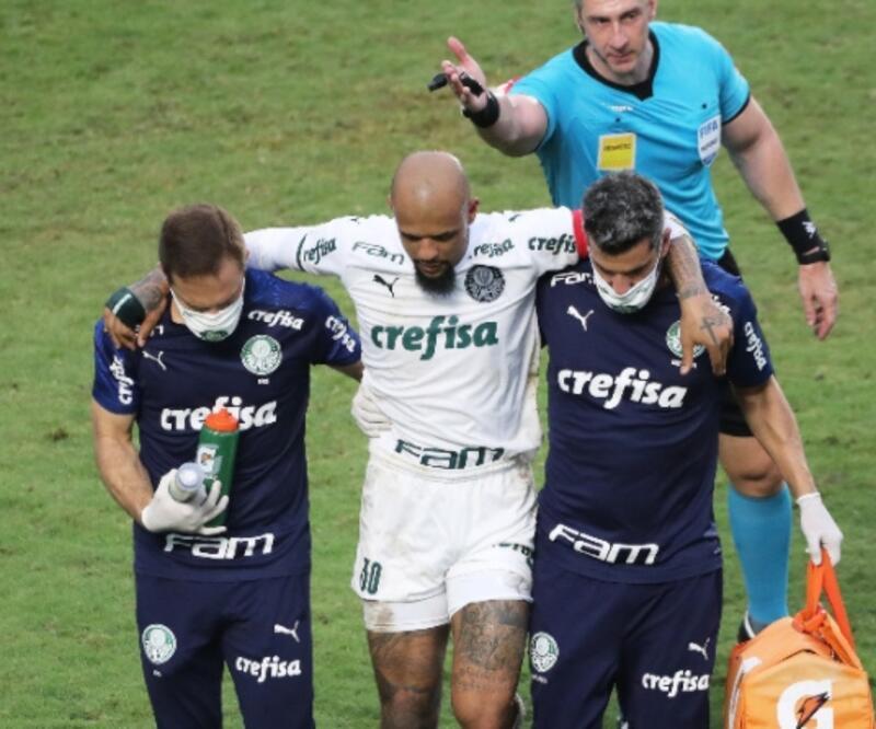 Felipe Melo'nun ayağı kırıldı