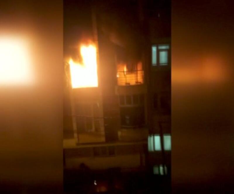 Esenyurt'ta yangın: 1 yaralı | Video