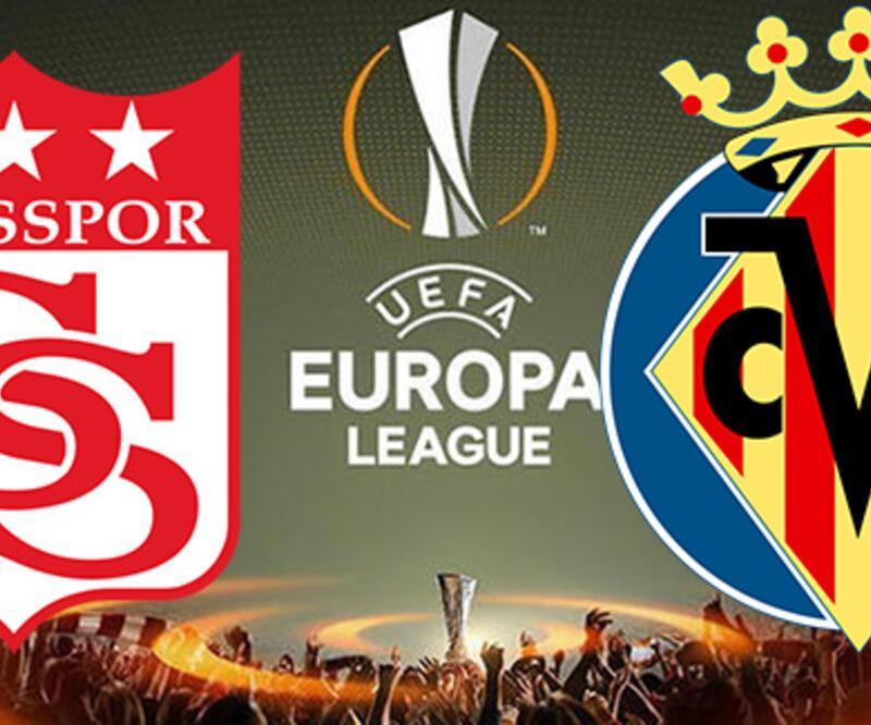 Sivasspor Villareal maçı saat kaçta? UEFA Avrupa Ligi'nde Sivasspor'un maçı hangi kanalda?