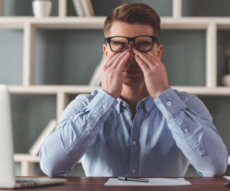 Göz hastalıkları baş ağrısına yol açabilir