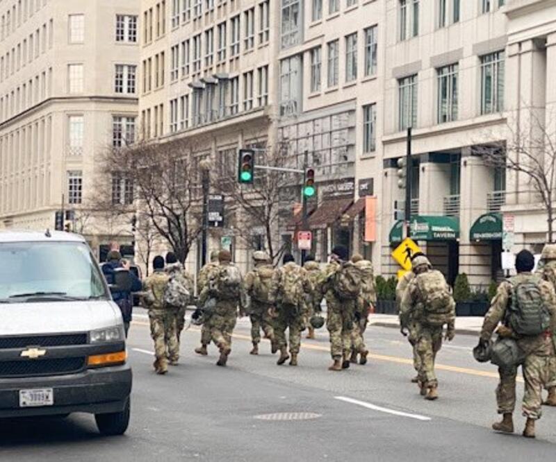 ABD tarihi törene hazırlanıyor! 21 bin Ulusal Muhafız görevlendirildi