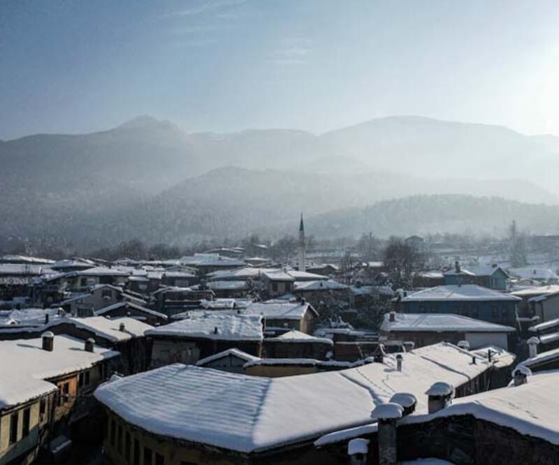 Bursa'nın yedi asırlık 'Osmanlı köyü'nden nefes kesen manzaralar!