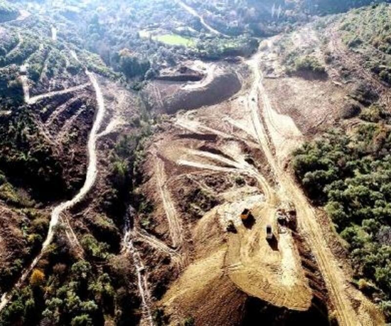 Tire'nin 3'üncü barajı Dereli'nin inşasına başlandı