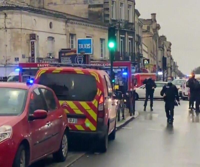 Fransa'da patlama: 3 yaralı
