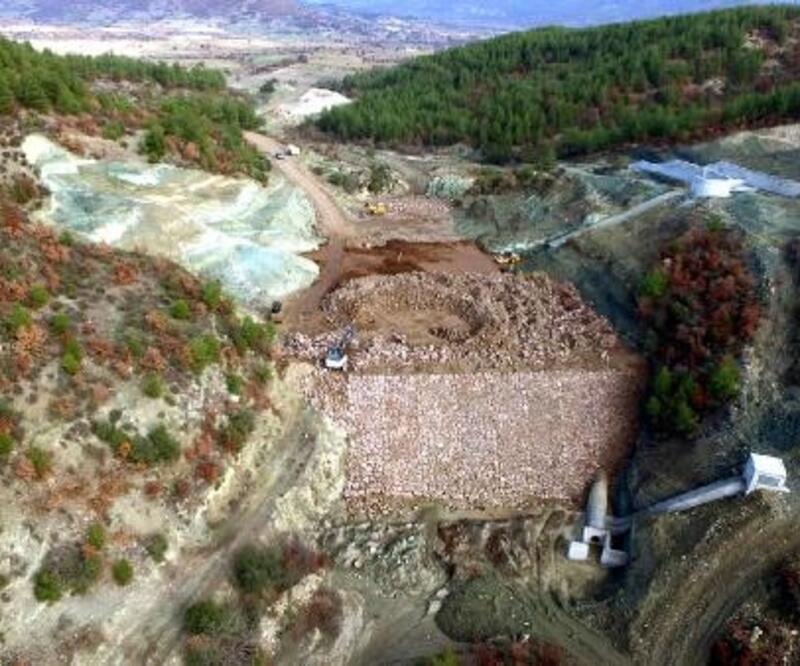 Kuzuköy Barajı inşaatında sona yaklaşılıyor
