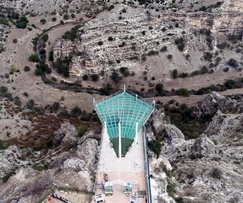 Dünyanın en uzun ikinci kanyonu! Bu terasta yürümek cesaret istiyor