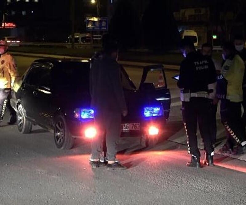 Düzce'de polisin denetiminde silah ele geçirildi