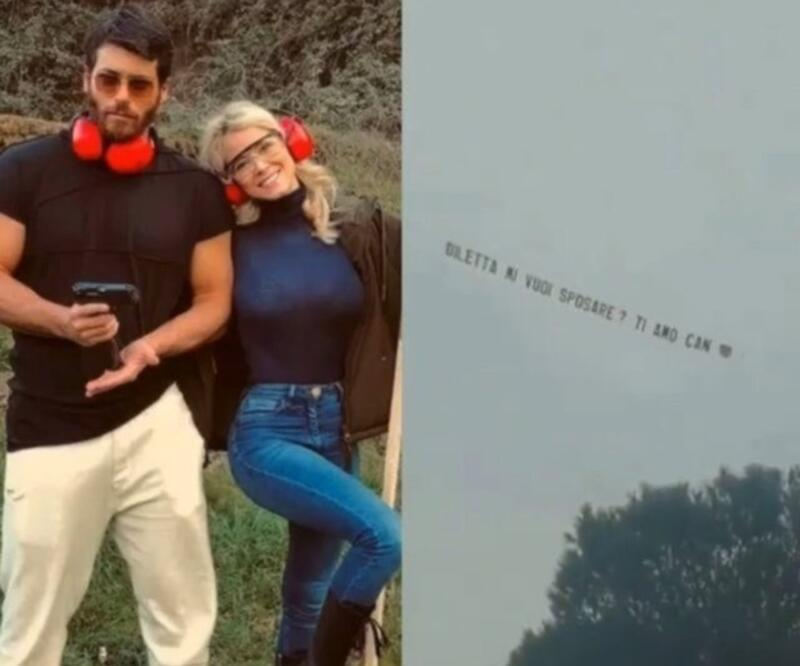 Can Yaman'ın sevgilisi Diletta Leotta'ya aldığı tektaş yüzük ortaya çıktı!