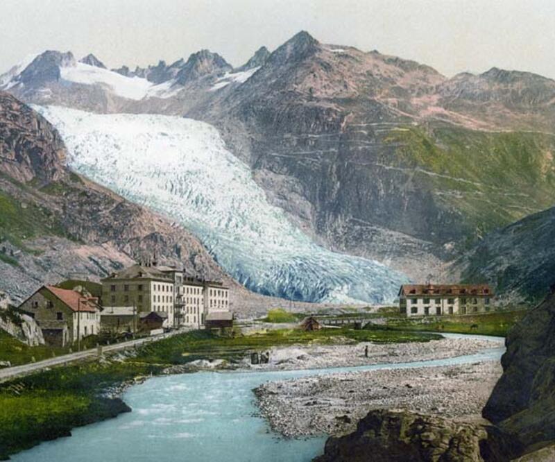 İsviçre Alpleri'nin en ihtişamlı buzulu; Rhône Glacier! Emre Ünlü yazdı...