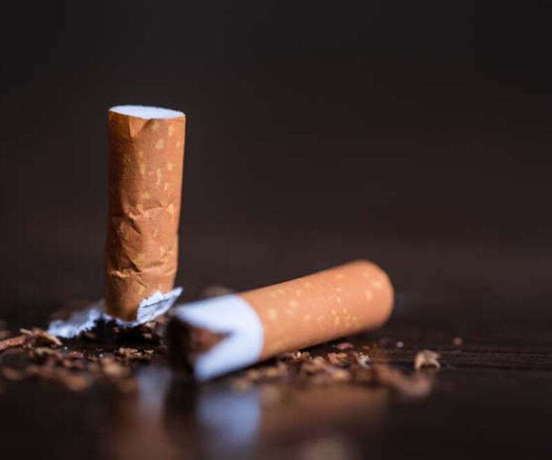 Sigaranın bir zararı da mideye