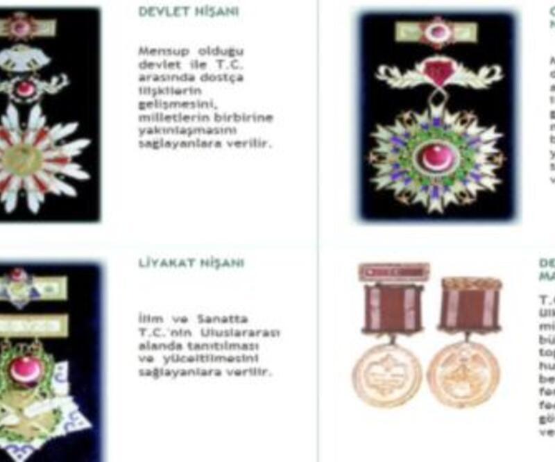 Madalyalarda Atatürk kabartması