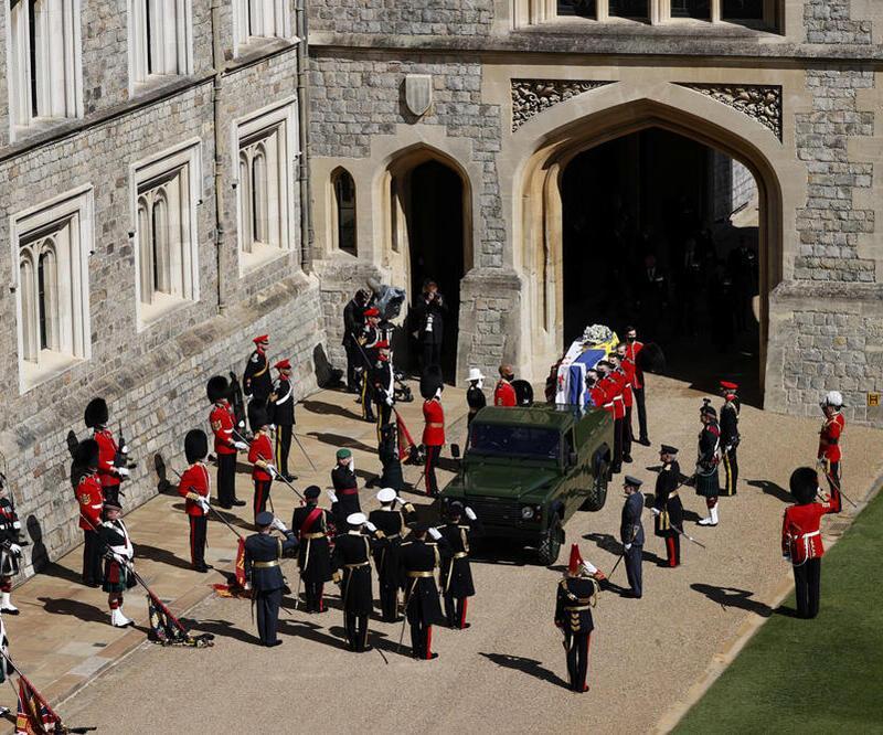 Prens Philip için Kraliyet töreni