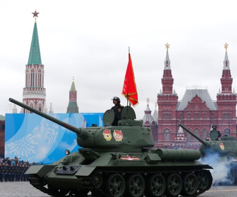 Rusya'da Zafer Günü kutlamaları: Moskova'da Putin'in de katıldığı askeri geçit töreni