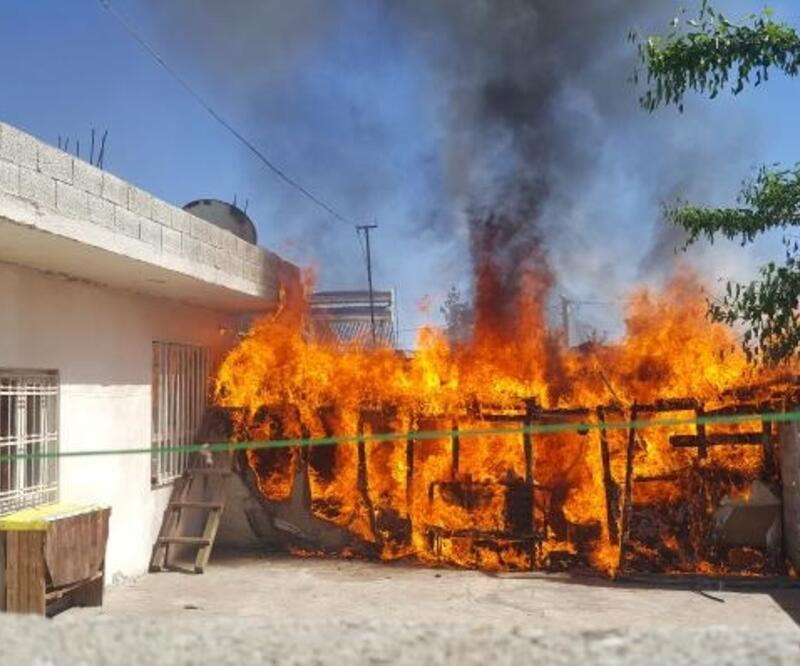 Patlayan trafosu yangına neden oldu