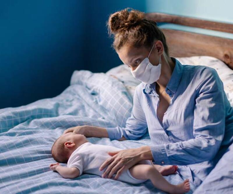 Anne, baba ya da bebek Covid pozitif ise dikkat! Yenidoğan bakımına özel 10 önemli uyarı