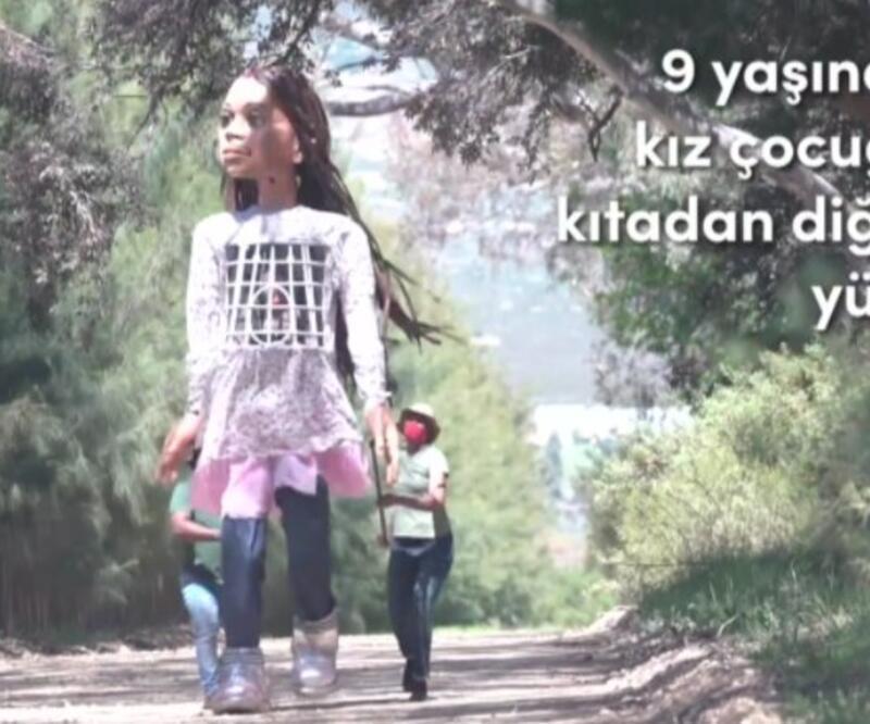 Küçük Amal'ın büyük yolculuğu... 8 ülkeden geçerek 8 bin kilometre yol katedecek