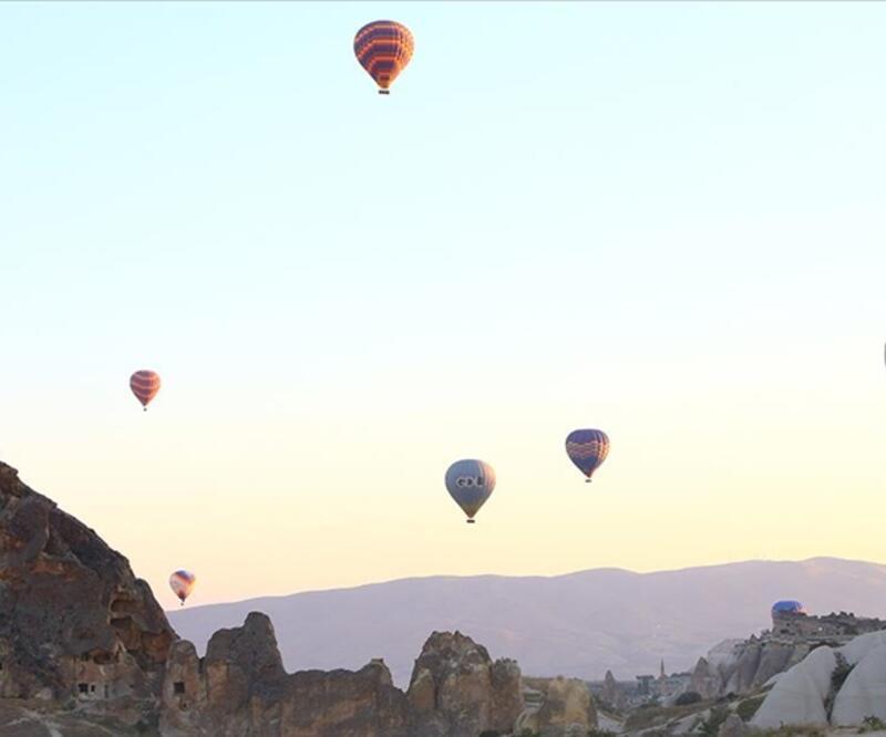 Kapadokya'da tam kapanmanın ardından turlar başladı