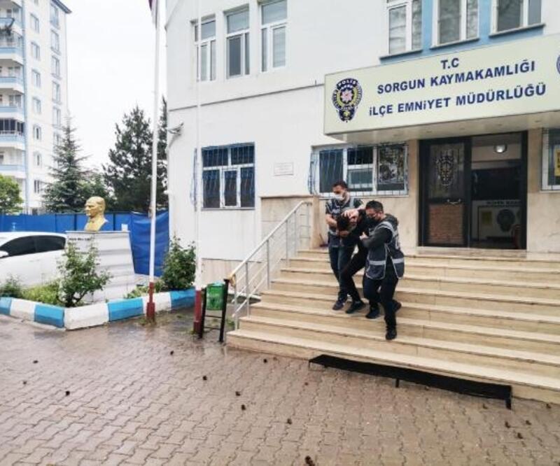 Sorgun'da uyuşturucu operasyonunda 2 tutuklama
