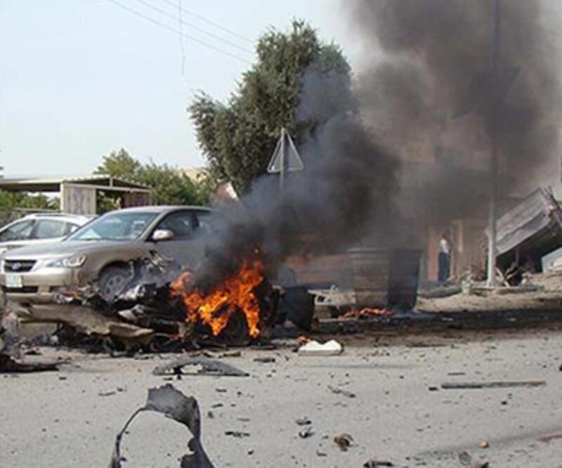 Bağdat'ta patlama: Ölüler ve yaralılar var