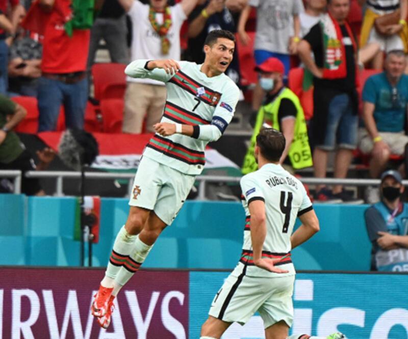 Ronaldo tarihe geçti! Portekiz turnuvaya galibiyetle başladı