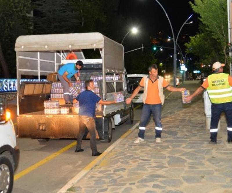 Alanya Belediyesi'nden Manavgat ve Akseki'ye destek seferberliği