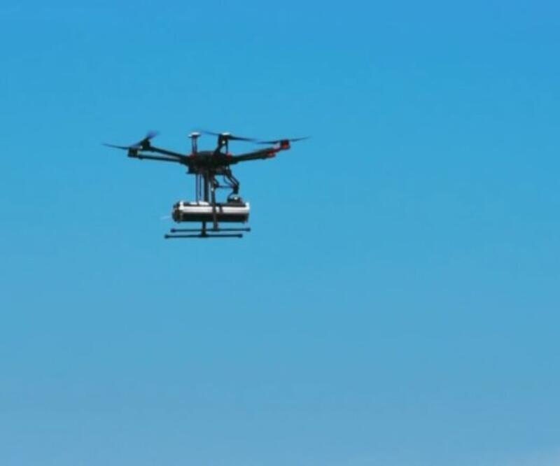 Yangınlarda hasar tespiti Drone'ların yardımı ile yapılıyor