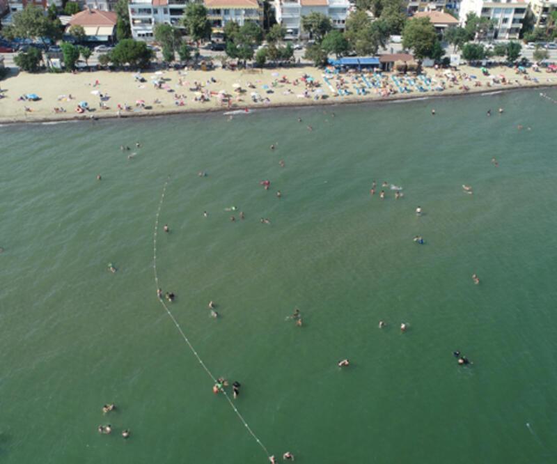 İstanbul'un yanı başında! Tekirdağ'ın mavi bayraklı plajları turistleri cezbediyor