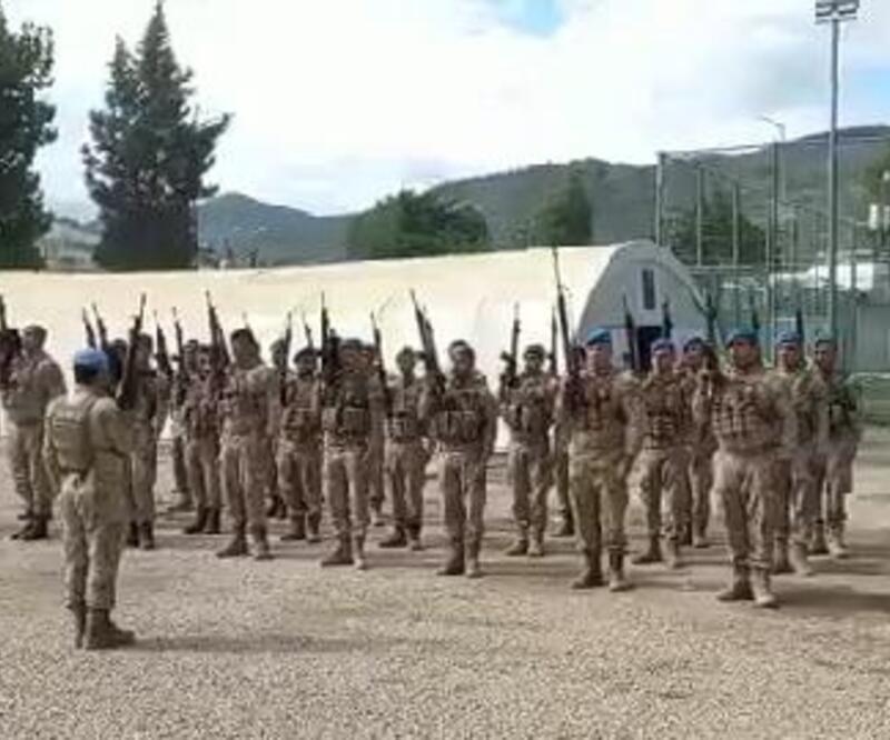 Sinop'ta selde görev alan komandolar ant içerek ayrıldı
