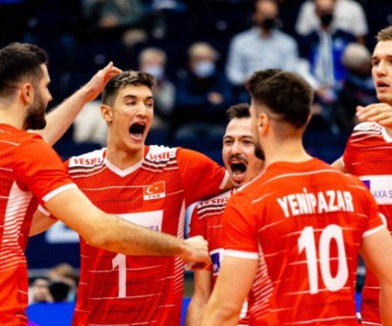 Filenin Efeleri 3'te 3 yaptı! Makedonya Türkiye voleybol maç sonucu 0-3