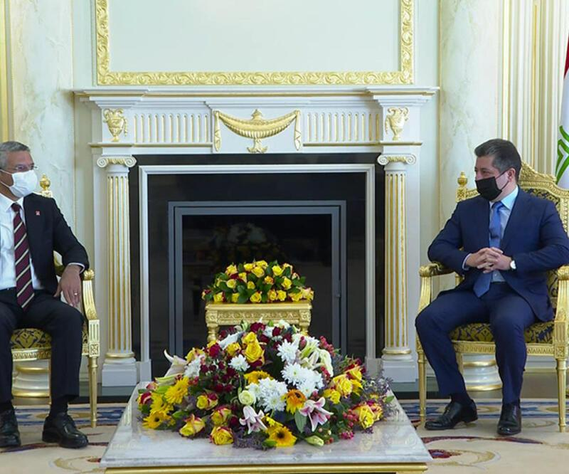 CHP'li Salıcı'dan Barzani ziyareti açıklaması