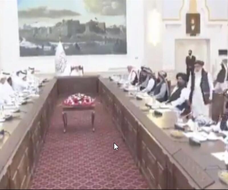 Taliban'a ilk üst düzey ziyaret