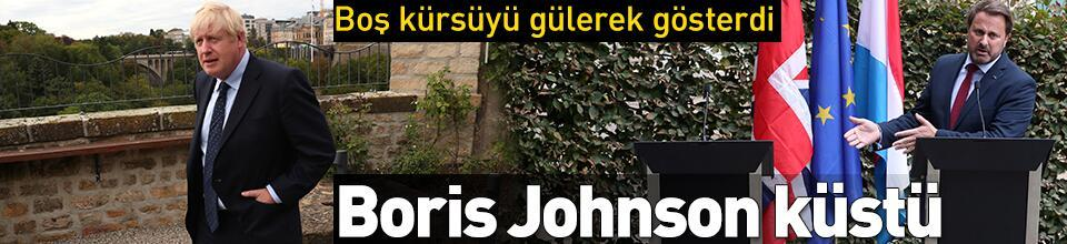 Boris Johnson küstü