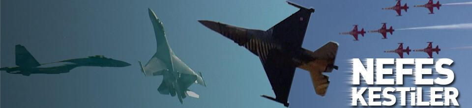 TeknoFest'te Türk Yıldızları, SoloTürk ve SU-35 nefes kesti