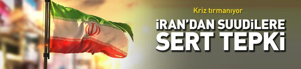 İran'dan Suudi Arabistan'ın suçlamalarına tepki