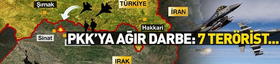 Son dakika: Bakanlık duyurdu! 7 PKK'lı terörist etkisiz hale getirildi
