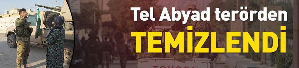 Tel Abyad ilçe merkezi terörden kurtarıldı