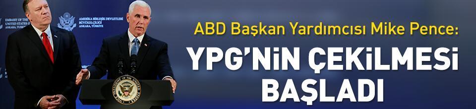 YPG'nin çekilmesi başladı