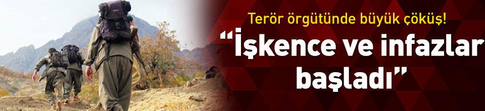 Gri kategoride teslim olan iki terörist: Örgüt içinde işkence ve infazlar başladı