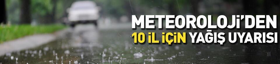 Hava durumu 24 Ekim: 10 il için yağmur uyarısı!