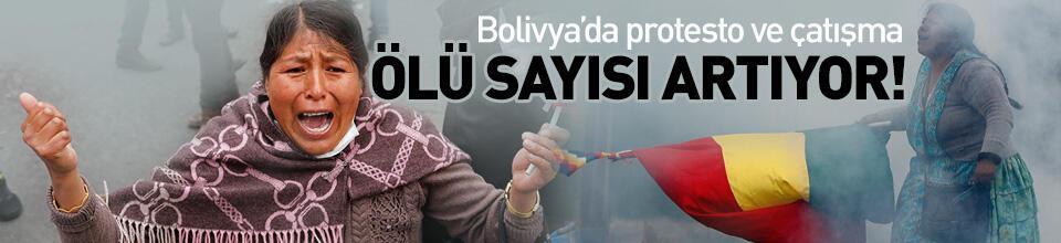 Bolivya'daki kaos büyüyor! Ölü sayısı 9'a yükseldi