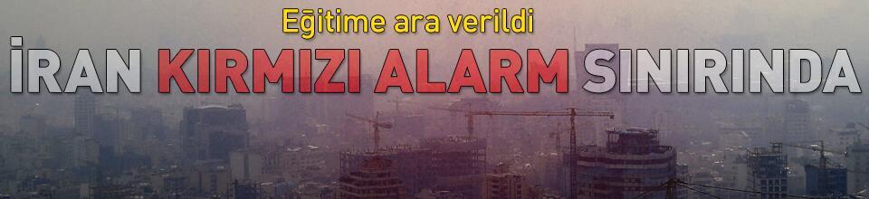 İran kırmızı alarm sınırında!