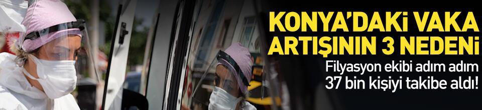 Konya'daki vaka artışının 3 nedeni var