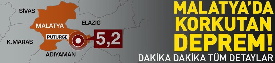 Malatya ve Adıyaman çevresinde korkutan deprem