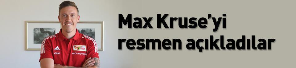Max Kruse'yi açıkladılar