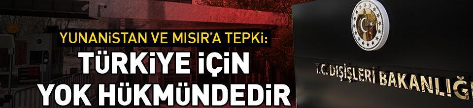 Türkiye için yok hükmündedir