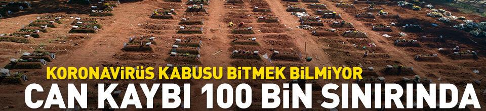 Bir ülkede daha can kaybı 100 bin sınırında