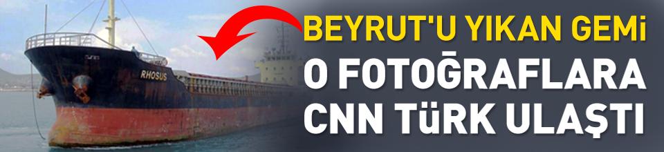 O fotoğraflara CNN TÜRK ulaştı